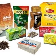 Продукты питания (кофе, чай, сахар)