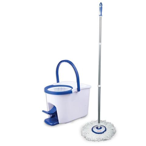 Материал - пластик, тип - швабра, область применения - для пола, количество предметов - 2, в наборе - швабра, ширина